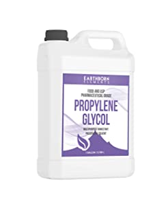 Propylene Glycol (1 Gallon) by Earthborn Elements, 100% Pure, Food & Pharmaceutical Grade, Hypoallergenic Moisturizer & Skin Cleanser