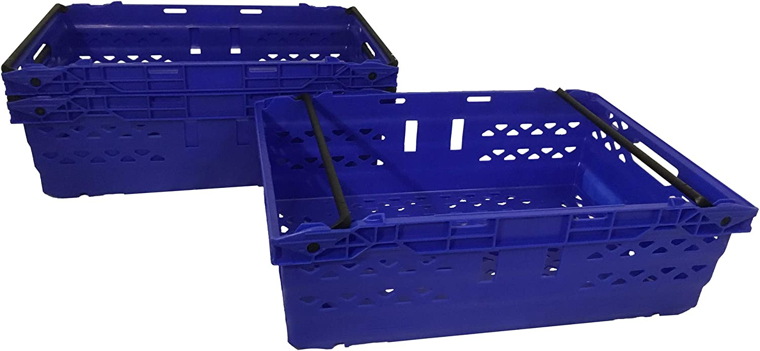Red Bale Arm Logistics Crate Supermarket Distribution Container