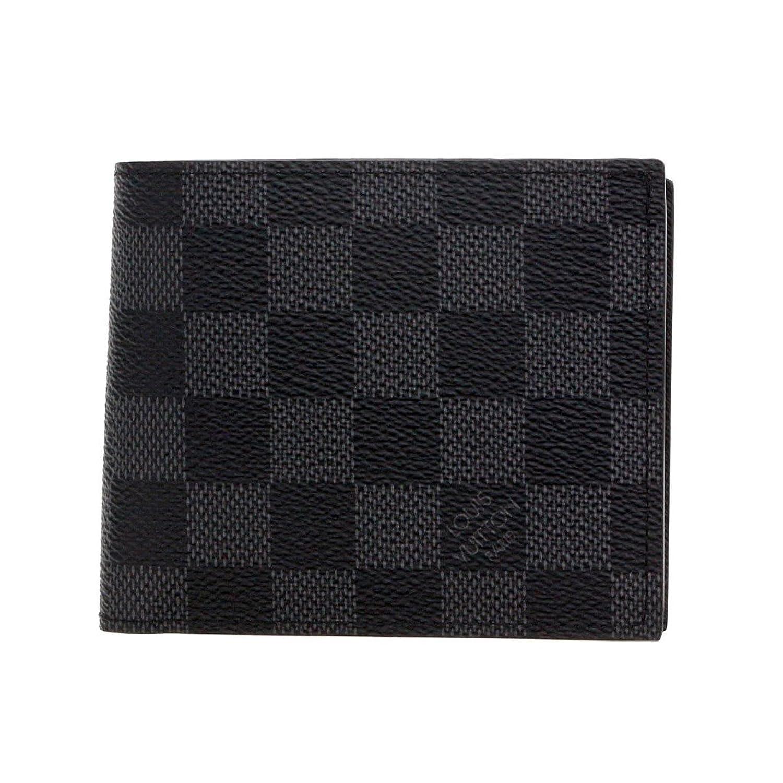 ルイヴィトン 二つ折り財布 N63336 ダミエグラフィット ポルトフォイユマルコNM [並行輸入品] B01MUNCSJ4
