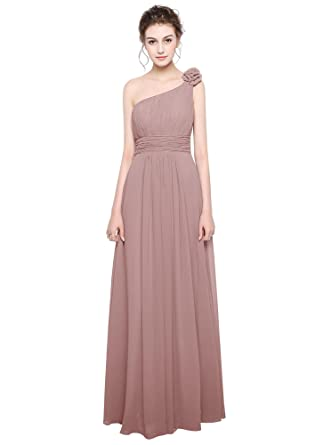 a8146f69d6525 Angel Star Long Chiffon Lace Evening Formal Party Ball Gown Prom Bridesmaid  Dress: Amazon.co.uk: Clothing
