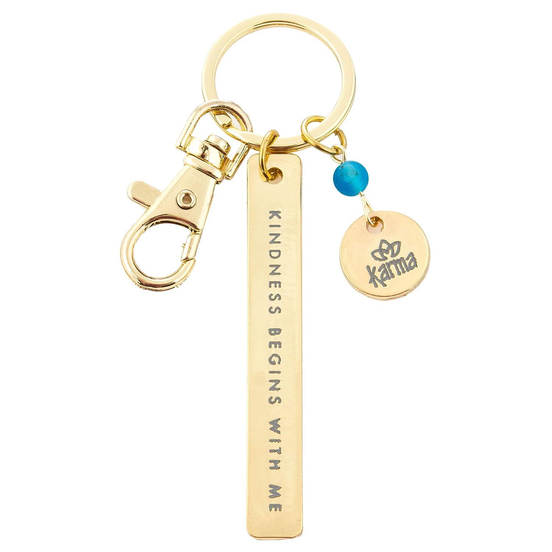 Karma Gifts Minimalist Key Chain KA3601PIN Adventure