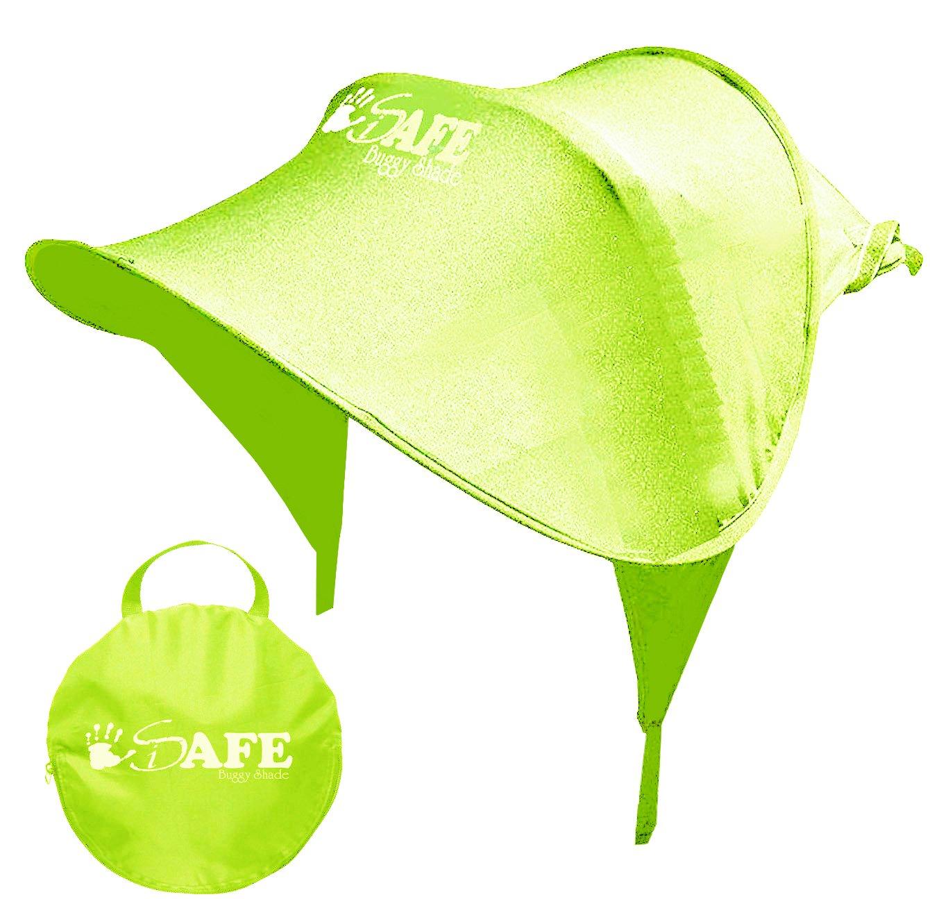 iSafe Buggy Shade Universal Stroller Sun Shade Maker - Lime I-Safe sh-lim
