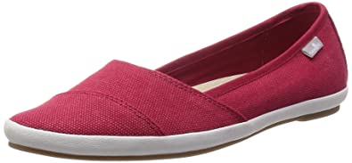 Sanuk Womens Kat Prowl Slip-On Loafer Red Size 7 46797fc1f