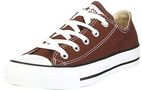 CONVERSE Chuck Taylor All Star Seasonal Ox, Unisex-Erwachsene Sneakers, Braun (Chocolate), 36 EU