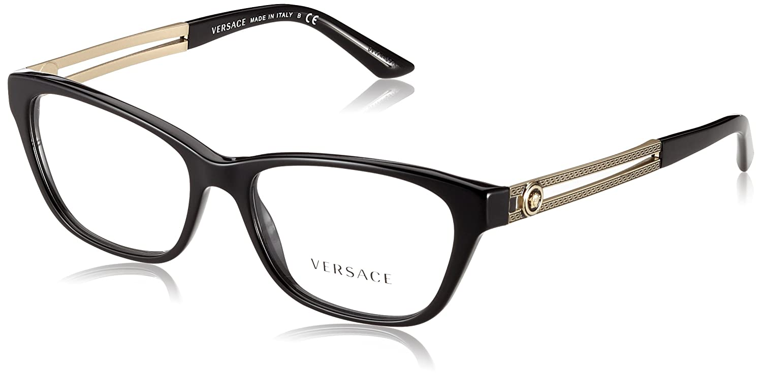 Versace Women's VE3220 Eyeglasses Balck 54mm 0VE3220