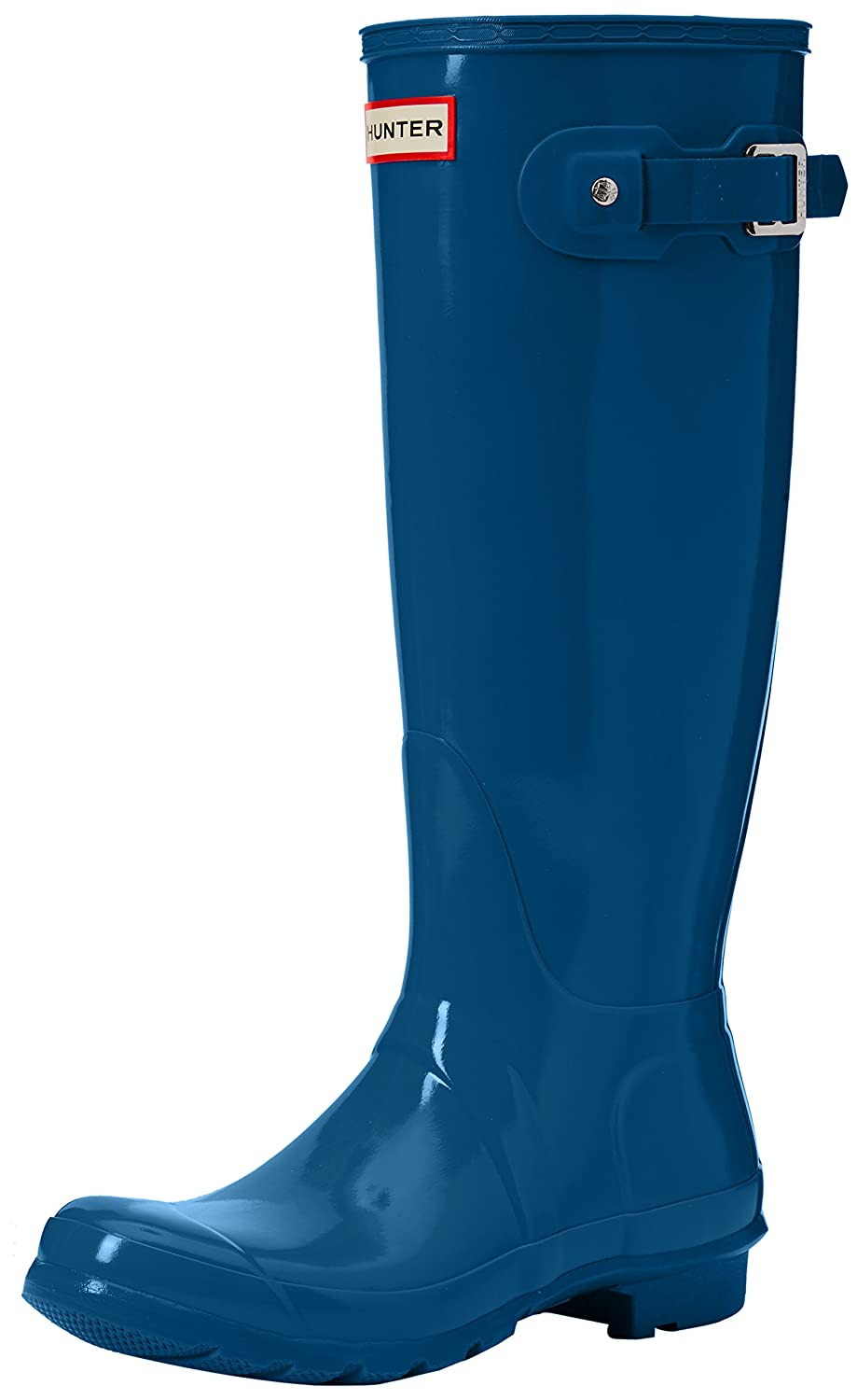 Hunter Women's Original Tall Rain Boot B01N7N9NEG 10 B(M) US|Ocean Blue