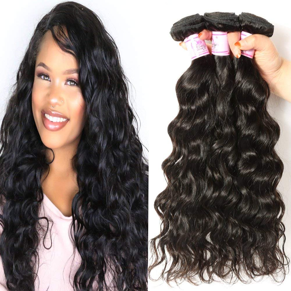 Amazon Beauty Forever Hair Brazilian Straight Hair 3 Bundles