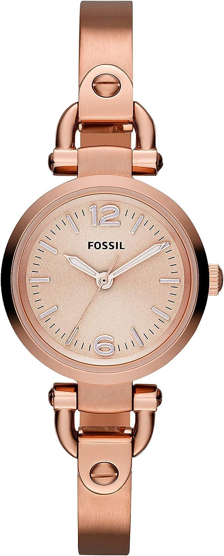 Fossil Reloj Mujer de Analogico con Correa en Acero Inoxidable ES3268