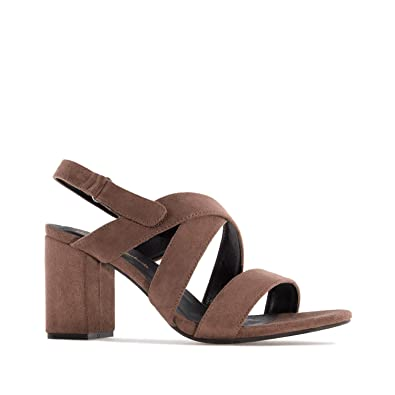 7eaf69776f74ab Sandales suèdine.pour Femmes.Petites et Grandes Pointures 32/35 et 42/45:  Amazon.fr: Chaussures et Sacs