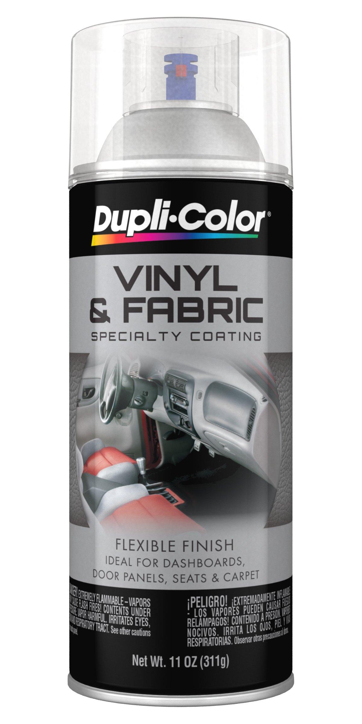 Dupli-Color Vinyl and Fabric Coating (Hvp115 Gloss Clear 11 Oz), 11. Fluid_Ounces,