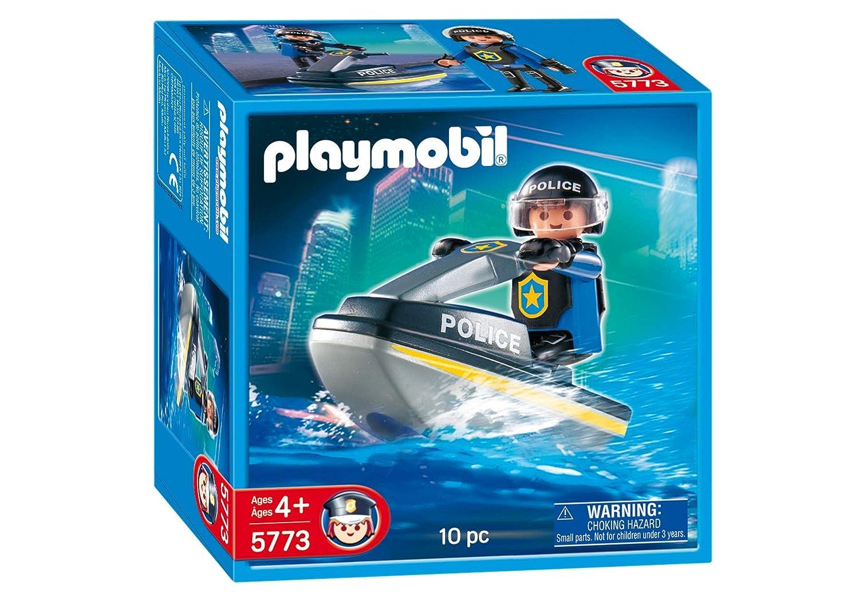 Amazon.com: Playmobil SWAT Jet Ski Racer Set: Toys & Games