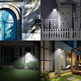 Solar Powered Wall Lights Outdoor, MOREFINE 21 LED