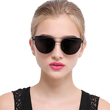 sunglasses fashion  Amazon.com: Joopin Fashion Women Metal Frame Cat Eye Sunglasses ...