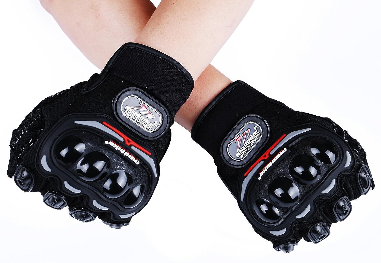Madbike Gants de moto d/ét/é mesh /écran tactile transpirable X-Large, black