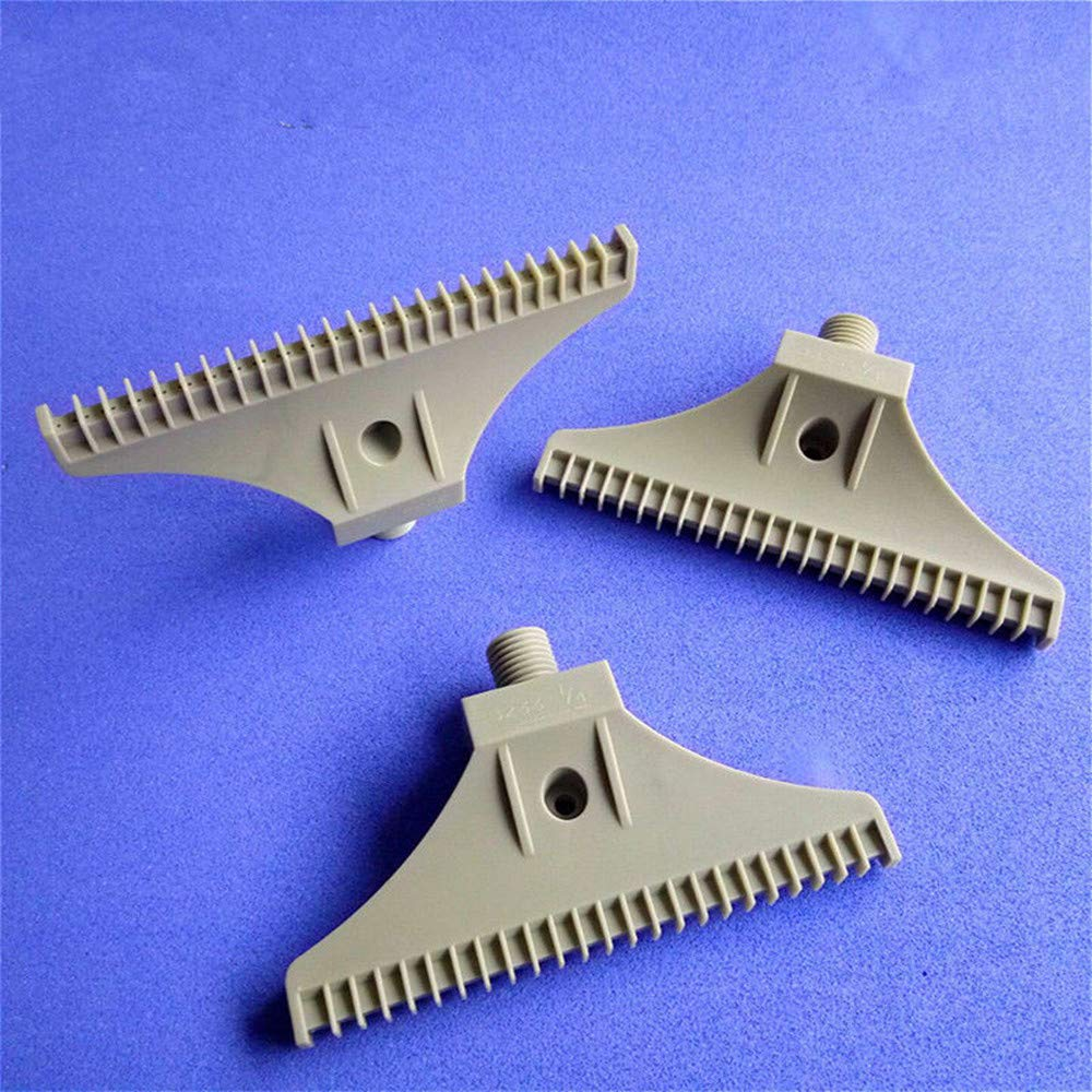 CCDZ 5PCS 1/4'' 48 Hole Gray ABS Air Blower Air Nozzle Air Knife Wind Nozzle