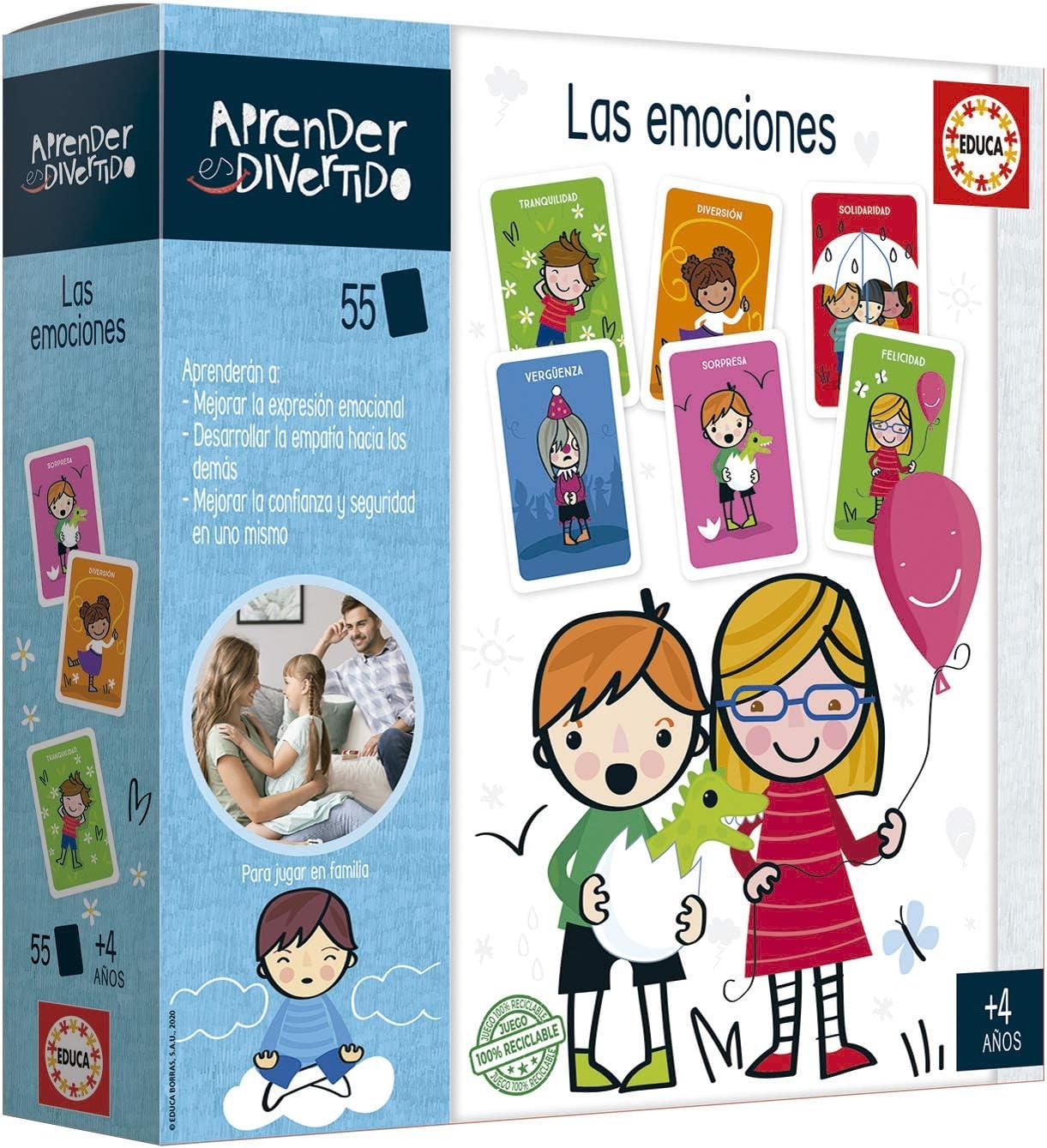 Educa- Aprender es Divertido: Caja Mágica, Aprende a gestionar Las Emociones Juego Educativo para niños, a Partir de 4 años (18706): Amazon.es: Juguetes y juegos