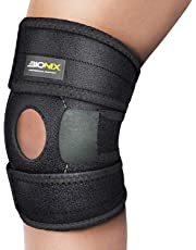 Knee Compression Sleeve Brace Support Arthritis Walking Running Pain Relief Wrap