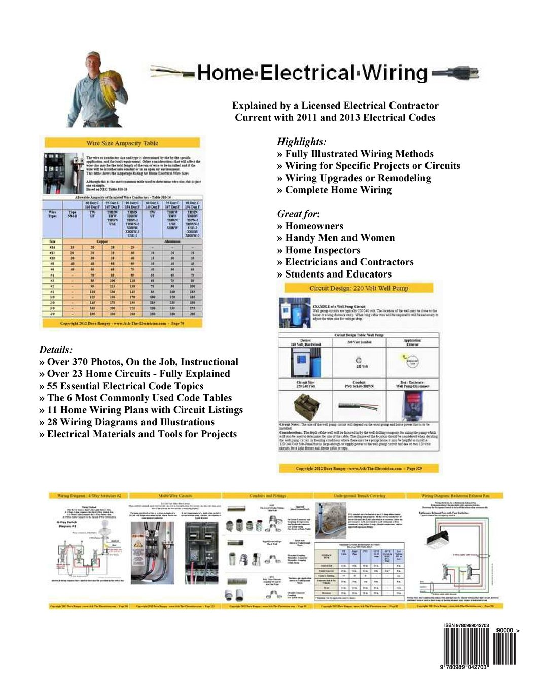 Wiring Circuit For A Contractor Schematic Diagram House Home Electrical Complete Guide To