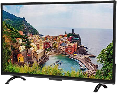Ccylez Smart TV de 43 Pulgadas, TV Curvo HD de 1920x1200 TV HDMI Curvature Smart 3000R Compatible con Interfaz VGA/USB/AV/HDMI/HF, Soporte de Base de TV, Control Remoto(Enchufe de la UE): Amazon.es: Electrónica