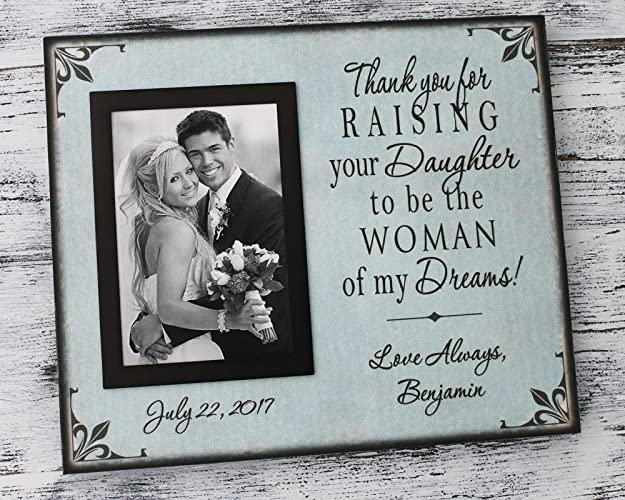 Amazoncom Handmade Canvas Personalized Parents Of The Bride