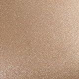 "MirriSparkle Desert Sand Glitter Cardstock Paper from Cardstock Warehouse 12"" x 12""- 16 PT/280gsm - 10 Sheets"
