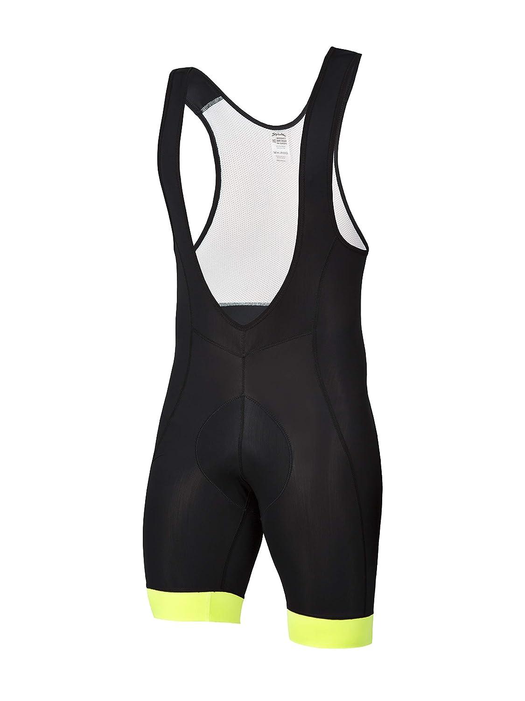 Adult Unisex Spiuk Men/'s Anatomic Short Black//Yellow Fluor T XXL Size