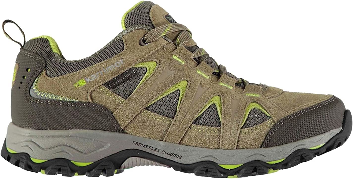 Karrimor Womens Mount Low Walking Shoes Waterproof Lace Up