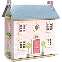 Le Toy Van Daisylane Collection | Bay Tree Dollhouse | Premium Wooden Toys for Kids Ages 3 Years & Up (TV462)
