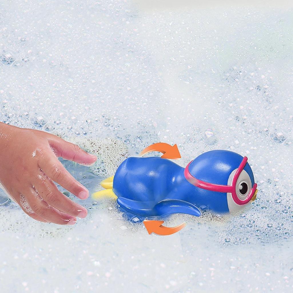 Cute Bath Swimming Tub Pool Toy Baby Boys Girls Bathing Turtle Animals Random ZF
