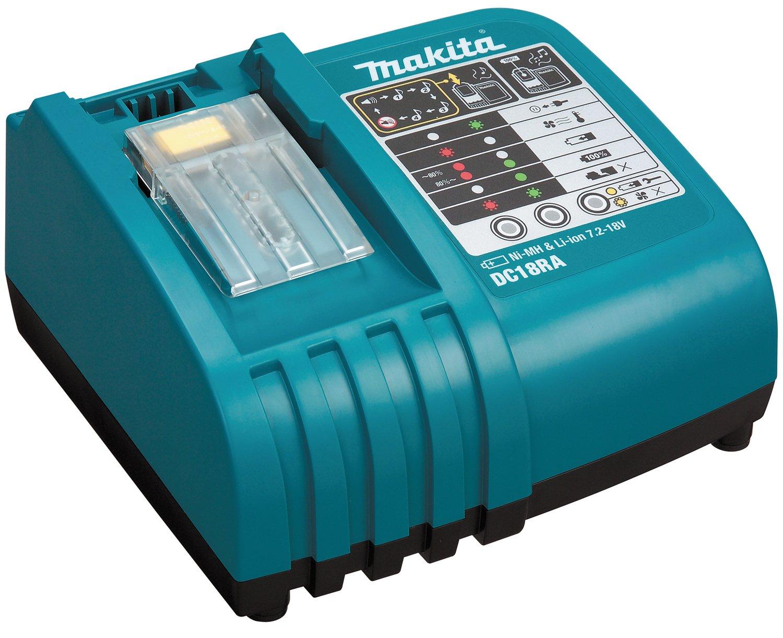 Makita DC18RA Rapid Battery Charger for Li-Ion Batteries DC18RC