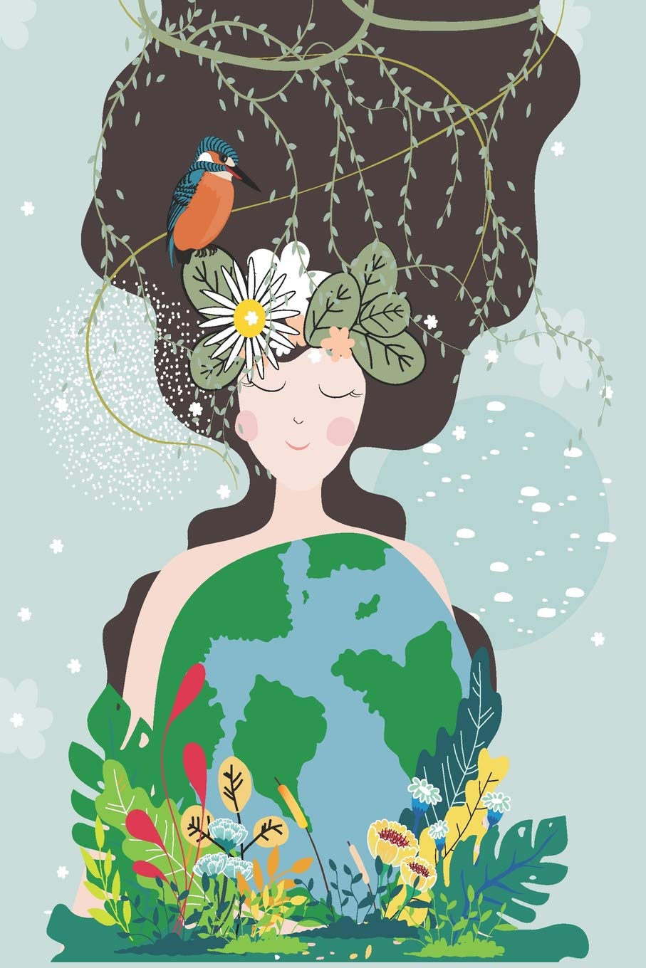 mother nature holding earth mid year academic diary