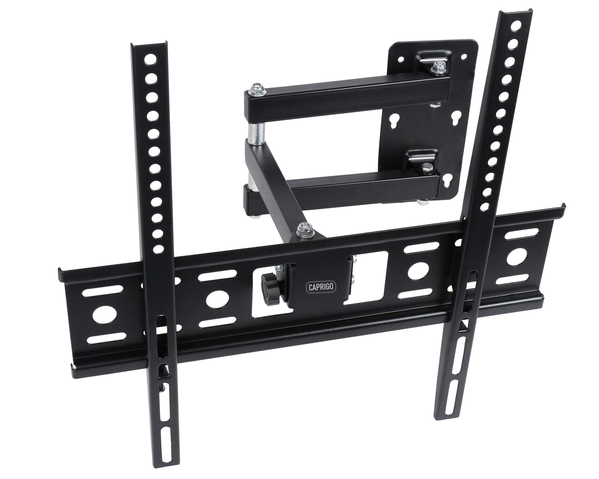 Caprigo Universal Heavy Duty TV Wall Mount Bracket for 24 to 40 inches LED/4K/QLED/HD/Smart TV, Full Motion Swivel Rotatable TV Wall Stand (Black - M455) (B07YQRXQ89) Amazon Price History, Amazon Price Tracker
