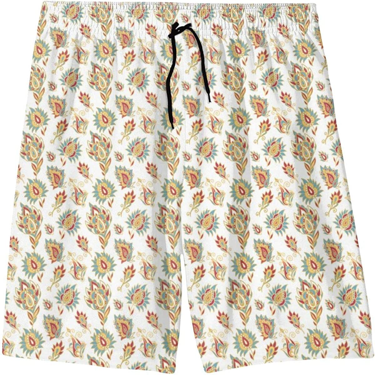 Homemen Boys Trunks Swimwear,Paisley/_1555