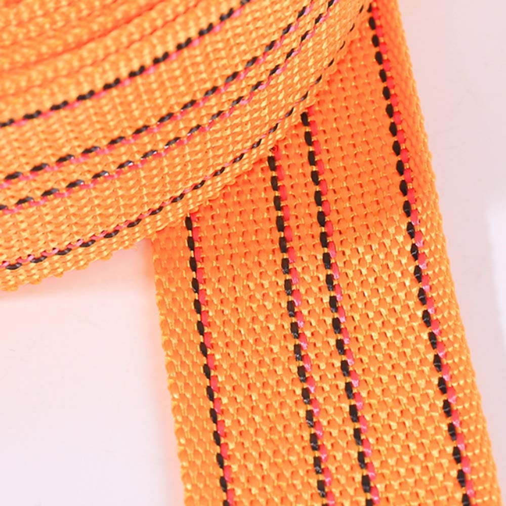 Amarillo Tama/ño: 10 m Banda de Nylon de 50 mm Correa de Correas Pesadas para Delantal de fleje de Mochila Artesanal DIY