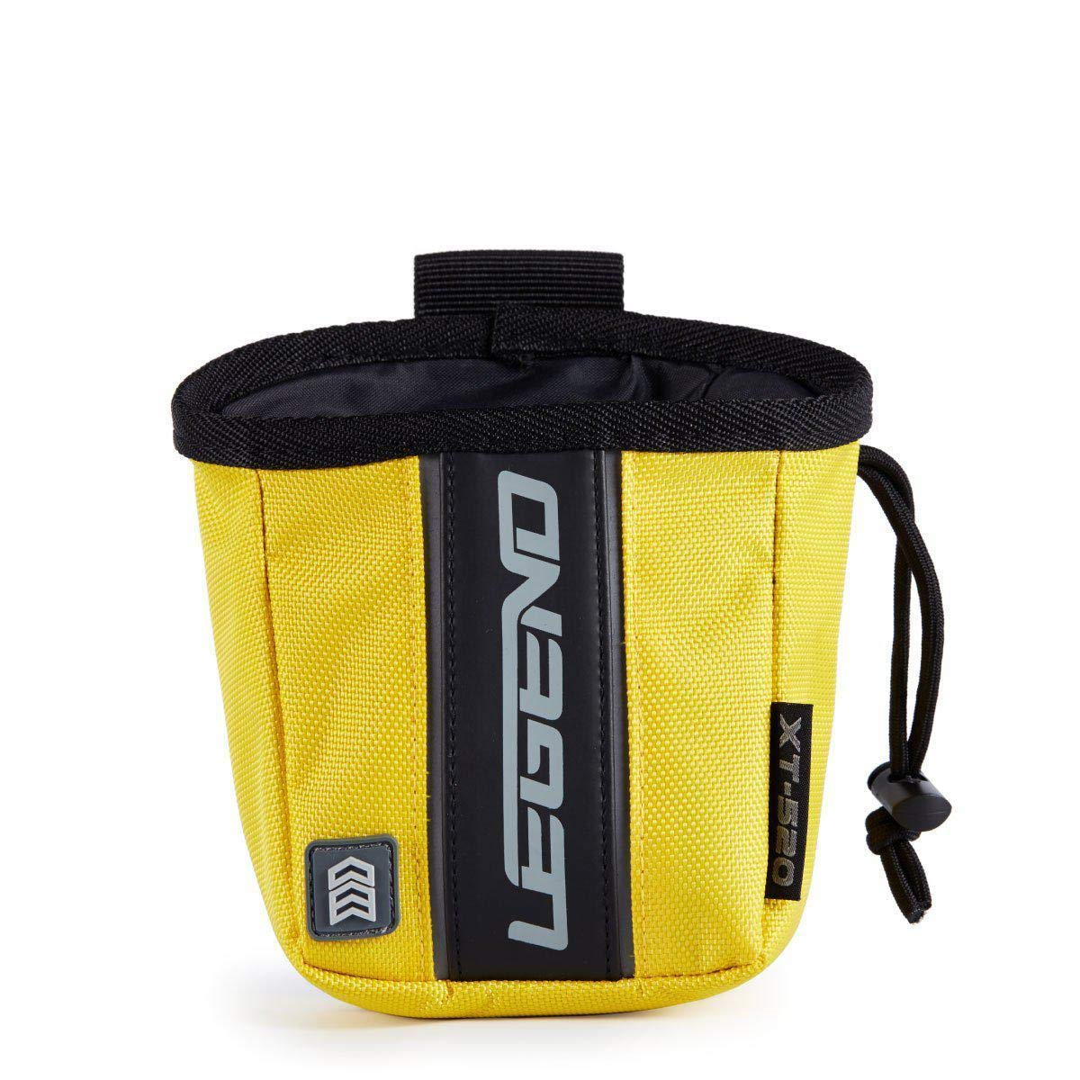 Legend Archery Release Aids Pouch Bag with Belt Loop Draw String and Zipped Pocket XT520 (Yellow) by Legend