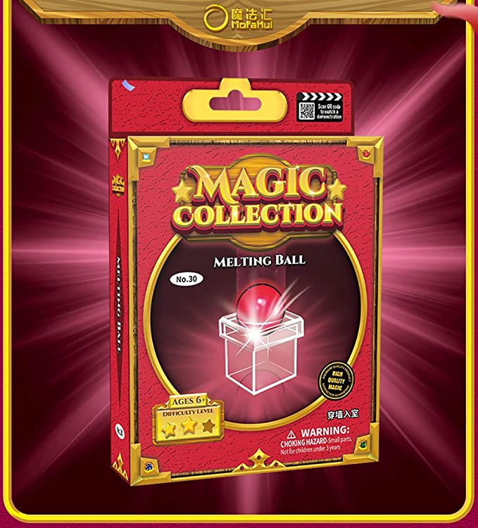 Amazon.com: ZQION Enjoyer Magic Ball Penetrating Through Box Magic Trick Kids Gift Magic Props: Toys & Games