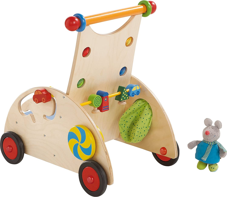 Lauflernwagen Holz Mädchen - HABA Entdeckerwagen