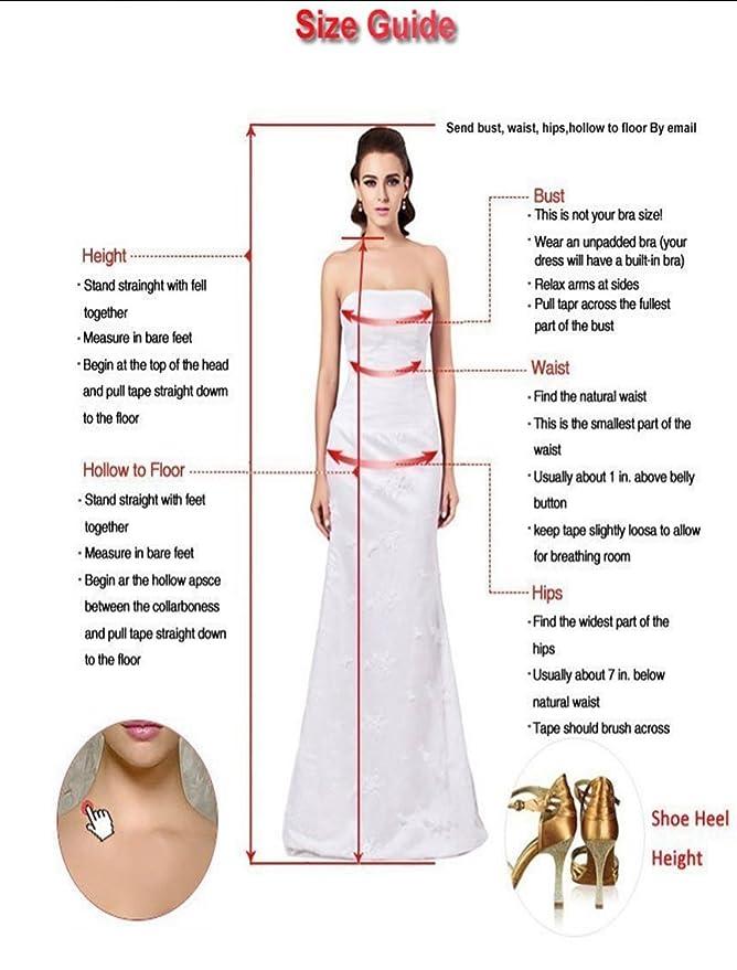 Memory Damen Abendkleider Hochzeitskleid Standesamt Lang ...