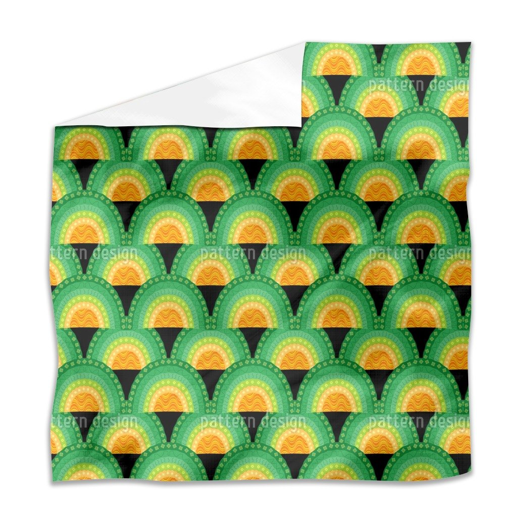 Bingo Bongo Flat Sheet: Queen Luxury Microfiber, Soft, Breathable by uneekee
