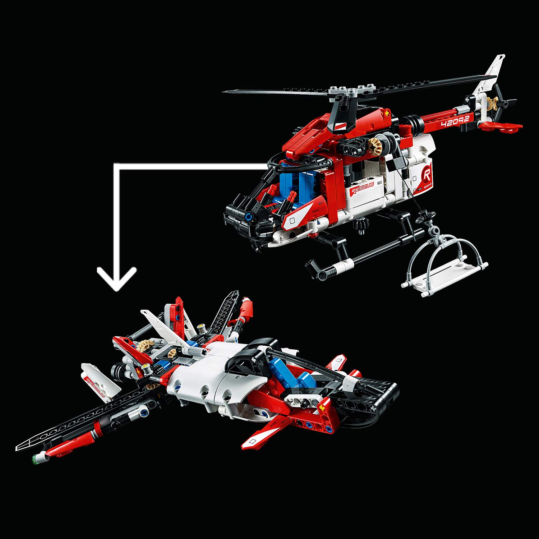 LEGO Technic L/'h/élicopt/ère de secours 42092 Jeu de construction