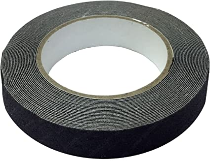 Black//Yellow High Visibility Safety Stripe Electriduct Gaffers Tape with Center Channel Floor Cable Tunnel Tape 4 x 50 Feet 16 Yards
