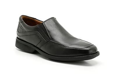 baby official photos official supplier Clarks Mens Smart Foot Free Leather Shoes In Black: Amazon ...