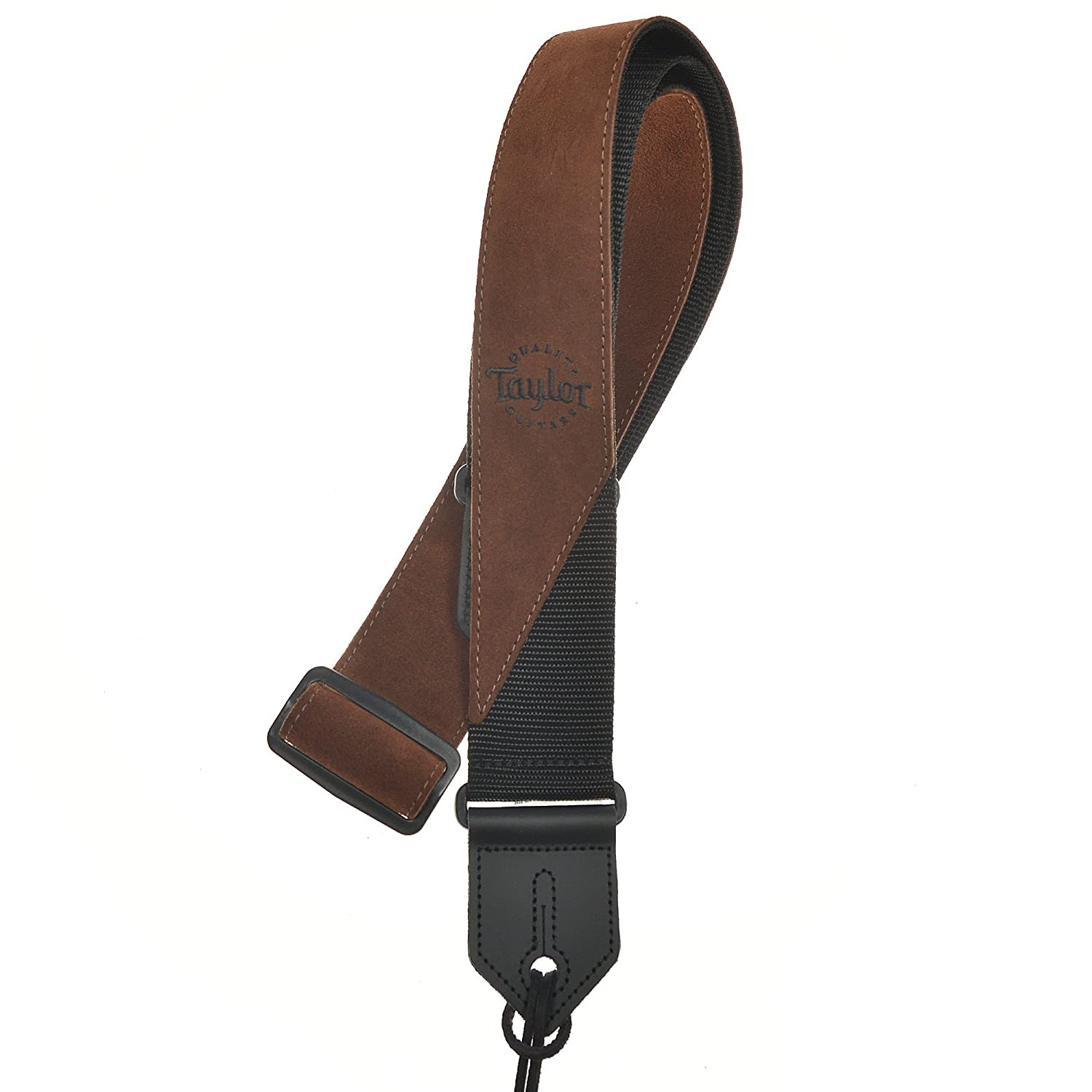 Taylor Guitar Strap - Suede/Poly, Brown Taylor Guitars 65123