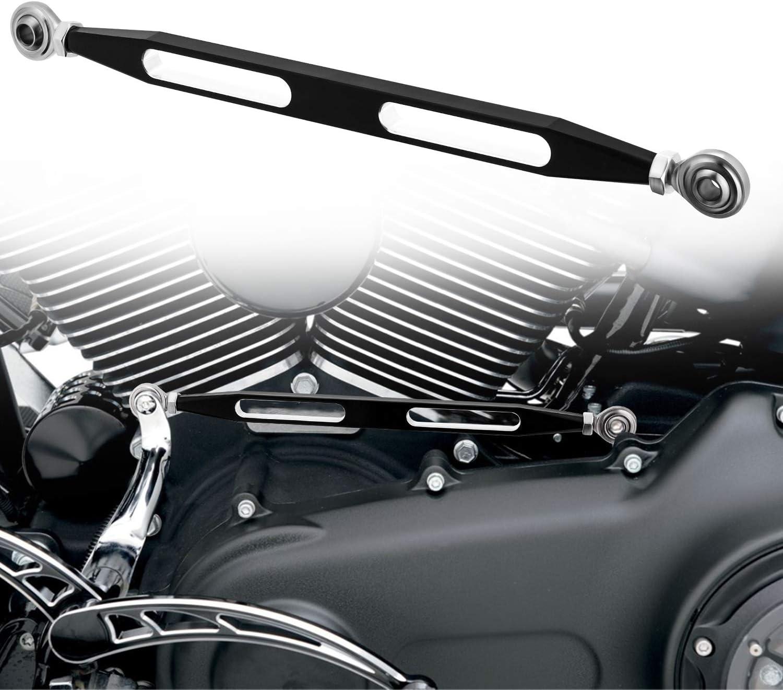 CICMOD Motorrad Schaltgest/änge CNC Schaltgest/änge Hebel f/ür H-Arley Dyna Electra Road King 1980-2018