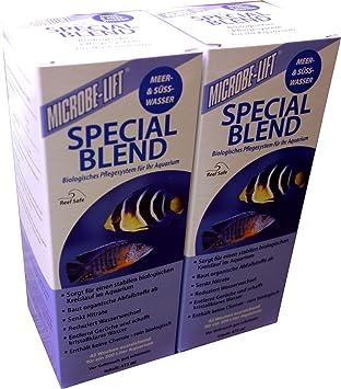 Microbe de Lift Special Blend – de purificador de agua para acuarios, bacterias präparat,