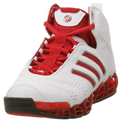 online retailer 6628d 9ce85 Adidas Men s a3 Artillery Basketball Shoe, White Red Black, ...