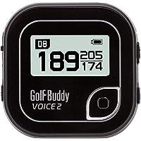 GolfBuddy Voice 2 GPS Golf Buddy New, Black