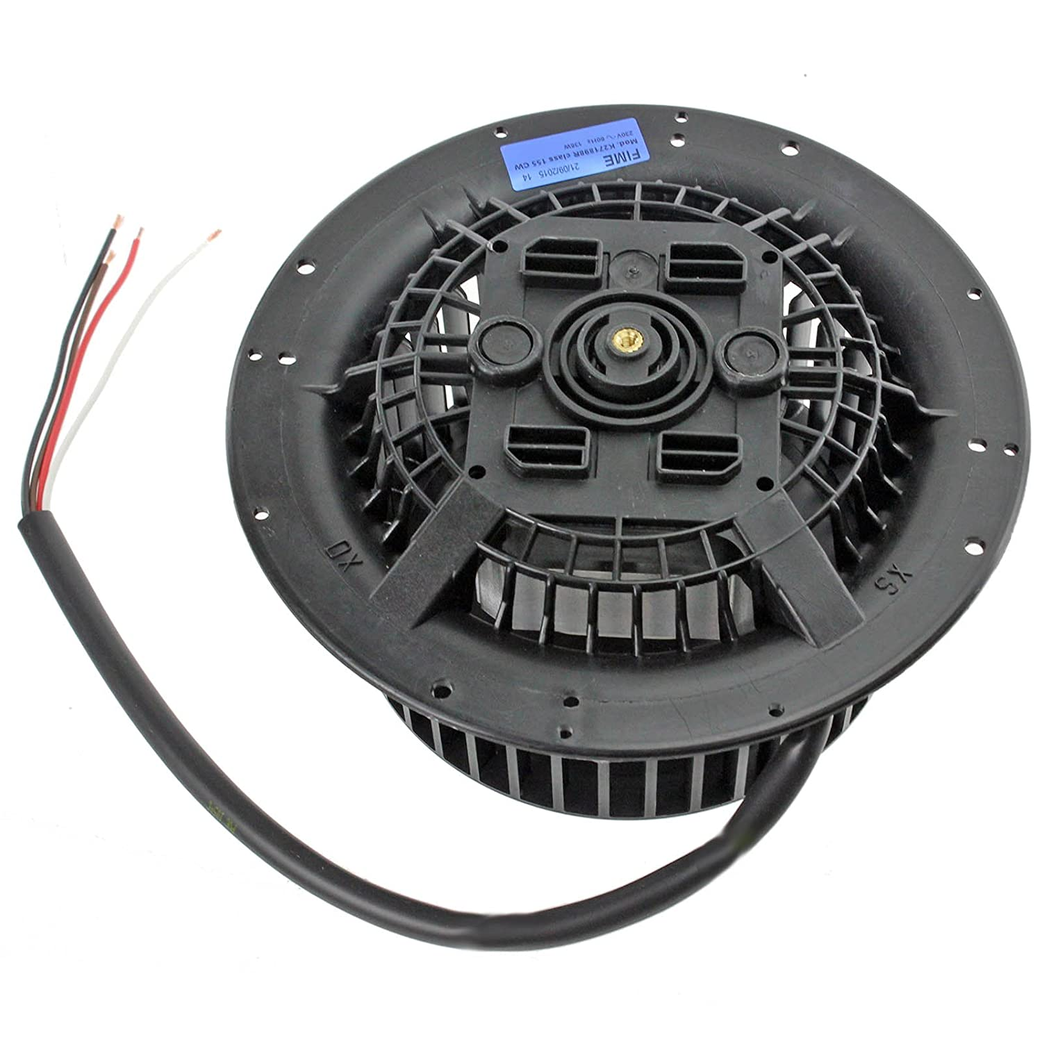 Spares2go Universal 135w Cooker Hood Motor Fan Unit Clockwise Range Wiring Right Hand Directional Kitchen Home