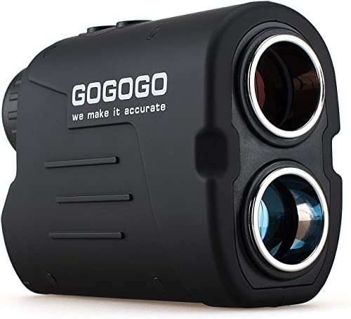 Gogogo Sport Laser Golf/Hunting Rangefinder, 6X Magnification Clear View 650/900 Yards Laser Range Finder, Accurate Scan, Slope Function, Pin-Seeker &...