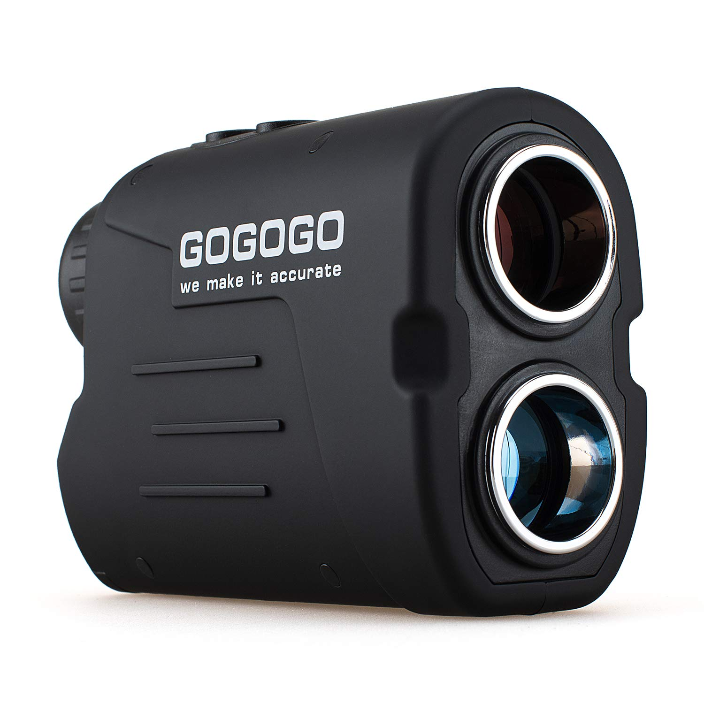 Gogogo Sport Laser Golf/Hunting Rangefinder, 6X Magnification 650/900 Yards Laser Range Finder, Accurate Range Scan, Slope Distance Correction, Pin-Seeker & Flag-Lock,Tournament Legal Golf Rangefinder by Gogogo Sport